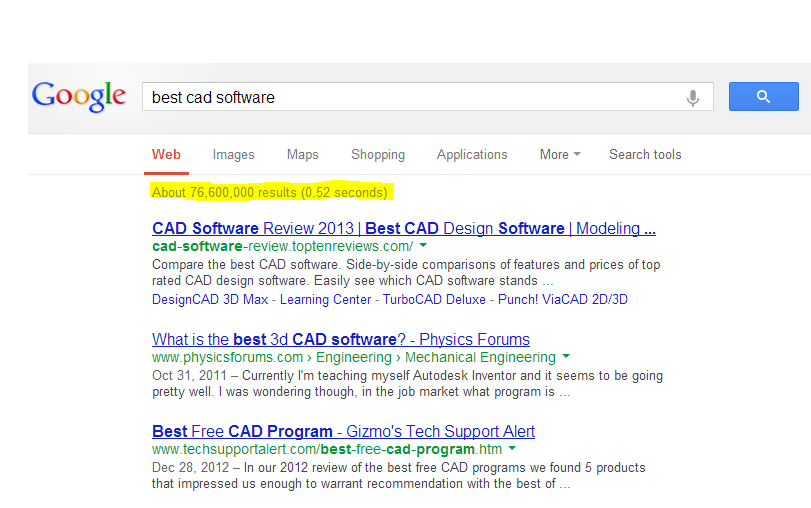 """Too many """"best"""" CAD softwares"""